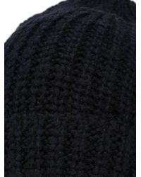 Our Legacy - Chunky Knit Beanie - Lyst