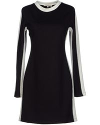 Opening Ceremony Black Short Dress - Lyst