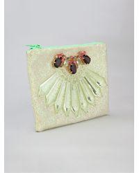 Mawi - Glitter Embellished Clutch - Lyst