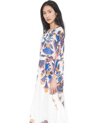 Issa - Long Sleeve Caftan - Lyst