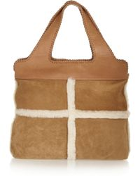 UGG - Quinn Shearling Tote - Lyst