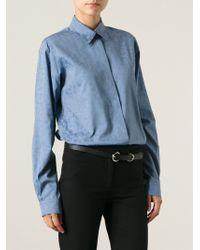 Gucci Leopard Print Shirt - Lyst