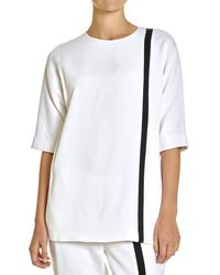 Lisa Perry Offset Top - Lyst