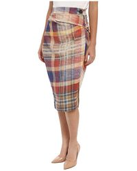 Vivienne Westwood Anglomania Isolation Skirt - Lyst
