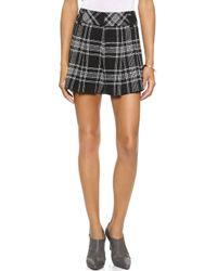 Alice + Olivia High Waisted Shorts - Lyst