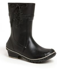 Sorel 'Conquest Carly Glow' Boot black - Lyst