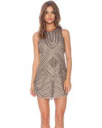 Parker Brown Allegra Dress - Lyst