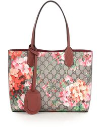 Gucci | Gg Blooms Small Reversible Tote | Lyst