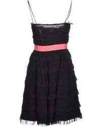 RED Valentino Virgin-Wool Knit Dress - Lyst