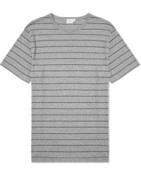 Sunspel Short Sleeve Crew Neck T-Shirt - Lyst