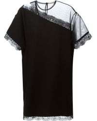 Christopher Kane Mesh And Lace Top - Lyst