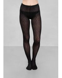& Other Stories - Polka Dot Tights - Lyst