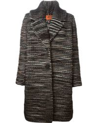 Missoni Zig Zag Pattern Coat - Lyst