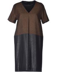 Hotel Particulier Short Dress - Lyst