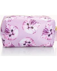 Forever 21 - Small Cat Print Cosmetic Bag - Lyst