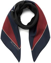 Mulberry   Abstract Star Printed Scarf   Lyst
