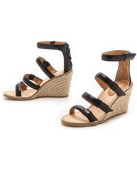 Marc By Marc Jacobs Seditionary Espadrille Wedges - Black - Lyst