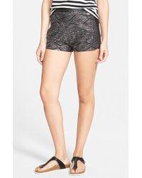 Volcom - 'stone Wild' Embellished Shorts - Lyst