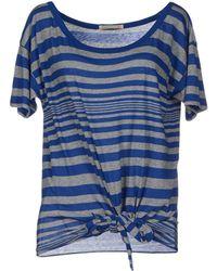 Alternative Apparel T-Shirt blue - Lyst