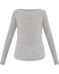 Vince Boat-neck Cashmere Sweater - Lyst