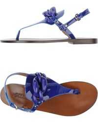 Studio Pollini Flip Flops Clog Sandals - Lyst