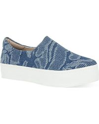 Opening Ceremony Slip-On Platform Trainers - For Women - Lyst