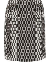 Diane Von Furstenberg Laury Jacquard-knit Skirt - Lyst