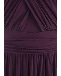 f94b14730a9 Gilli - So Happy To Gather Dress In Plum - Lyst