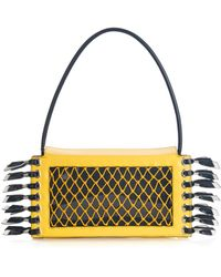 Toga - Crab Colour-block Leather Clutch - Lyst