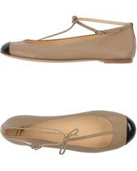 Giuseppe Zanotti Ballet Flats - Lyst