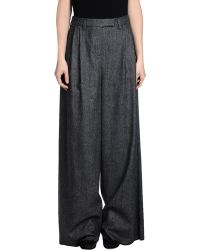 D&G Casual Trouser gray - Lyst