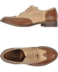 Pierre Darre' Lace-Up Shoes brown - Lyst