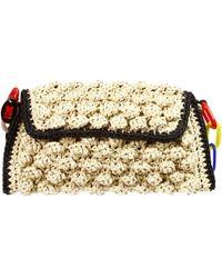 M Missoni Handbag Bag Raffia - Lyst