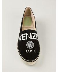 Kenzo ' Paris' Espadrilles - Lyst