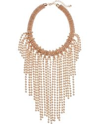 H&M Short Necklace pink - Lyst