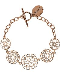 Laurent Gandini | Rose Gold Rock Crystal Bracelet | Lyst