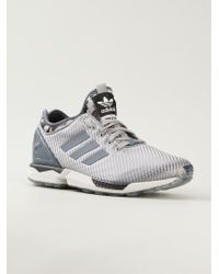 Adidas Zx Flux Trainers - Lyst