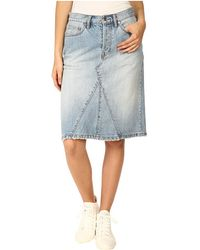 Marc By Marc Jacobs Icon Mid-Length Skirt - Lyst