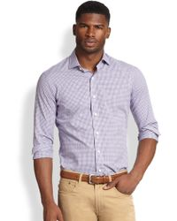 Polo Ralph Lauren Checked Estate Sportshirt - Lyst