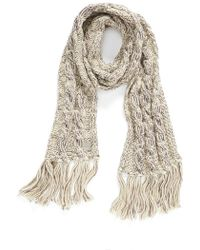 Bench | 'adoration' Cable Knit Scarf | Lyst