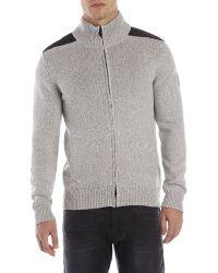DKNY Full-zip Sweater - Lyst