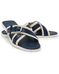 Ralph Lauren Leather Derbyshire Sandal - Lyst