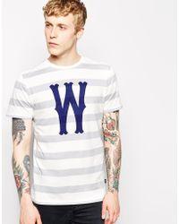 Wesc Tshirt with Dubby Stripe - Lyst