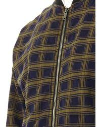 Marc By Marc Jacobs | Checked Cotton Bomber Jacket | Lyst