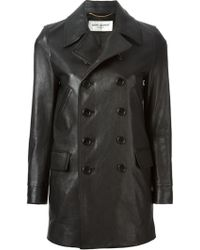 Saint Laurent Classic Caban Jacket - Lyst