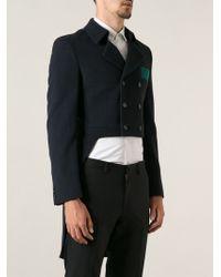 Comme Des Garçons Tail Suit Blazer - Lyst