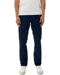 Wesc The Eddy Embroidery Chino Pants - Lyst