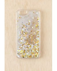 Urban Outfitters - Glitter Time Iphone 6/6s Case - Lyst