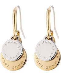Marc By Marc Jacobs - Logo Charm Earrings - Multicolour - Lyst