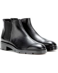 Tod's Leather Chelsea Boots - Lyst